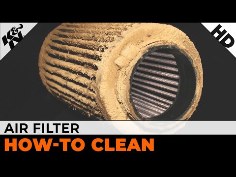 How to Clean Your K&N Air Filter