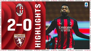 Highlights   AC Milan 2-0 Torino   Matchday 17 Serie A TIM 2020/21