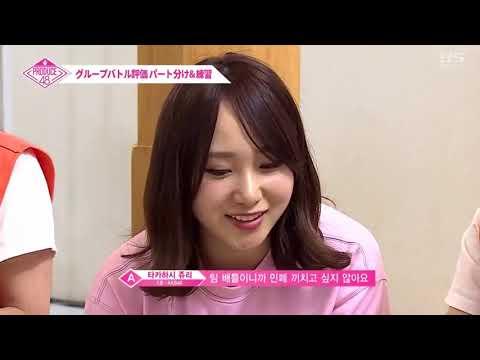 PRODUCE48 Ep3   'Short Hair' AOA Team   Choosing CENTER