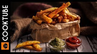 Easy Masala French Fries Recipe | Homemade Crispy French Fries