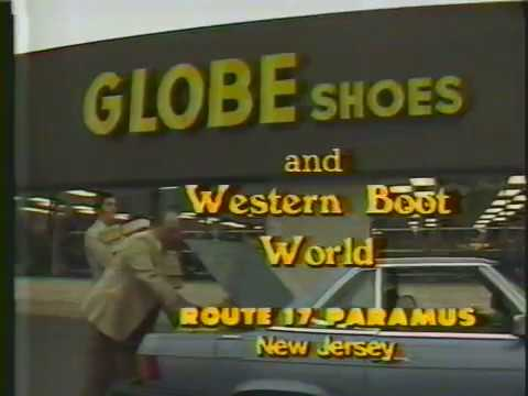 Globe Shoes Commercial 1985