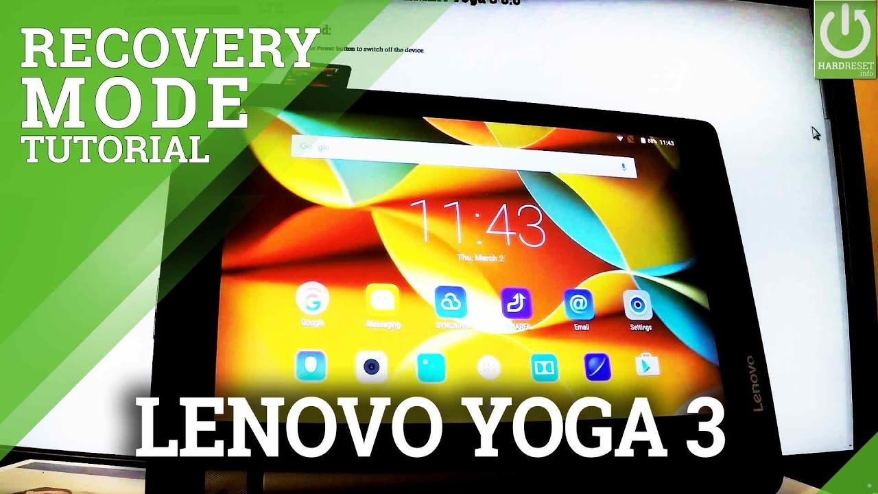 Recovery Mode LENOVO Yoga Tab 3 Plus 10 - HardReset info