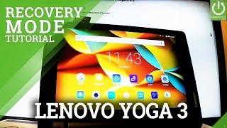 Recovery Mode in LENOVO Yoga 3 - Enter / Quit LENOVO RECOVERY