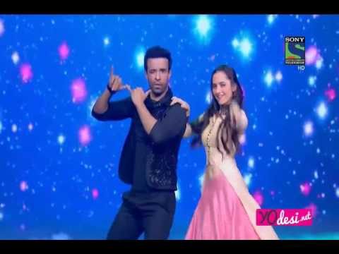 Sanjeeda Sheikh and Aamir Ali Dancing in Power Couple Grand Finale