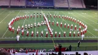 ballard high school marching band homecoming show part 2