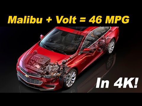 2016 / 2017 Chevrolet Malibu Hybrid Review and Road Test | DETAILED in 4K