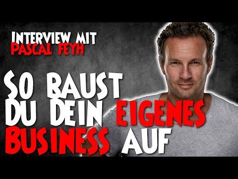 So baust Du Dein eigenes Business auf – Interview mit Unternehmer Pascal Feyh