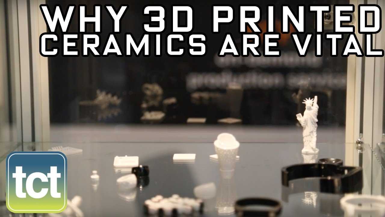 Richard Gaignon, CEO 3DCeram: 3D printed ceramics are vital