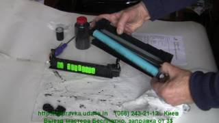 Заправка картриджа HP LJ-1102 (285A), CB435A, CB436A, Canon 725,