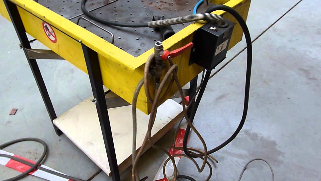 Bac de nettoyage de pi ces avec pompe cleaning tray with pump youtube - Nettoyage de la fonte ...