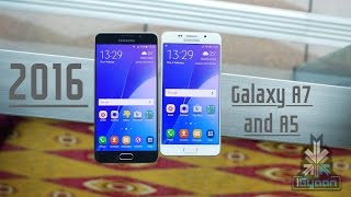 Samsung Galaxy A5 and A7 2016 Hands On First Look - iGyaan