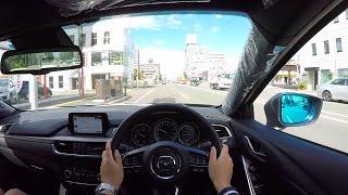 【Test Drive】 2016/2017 New Mazda Atenza (Mazda6) 4WD Diesel - POV City Drive
