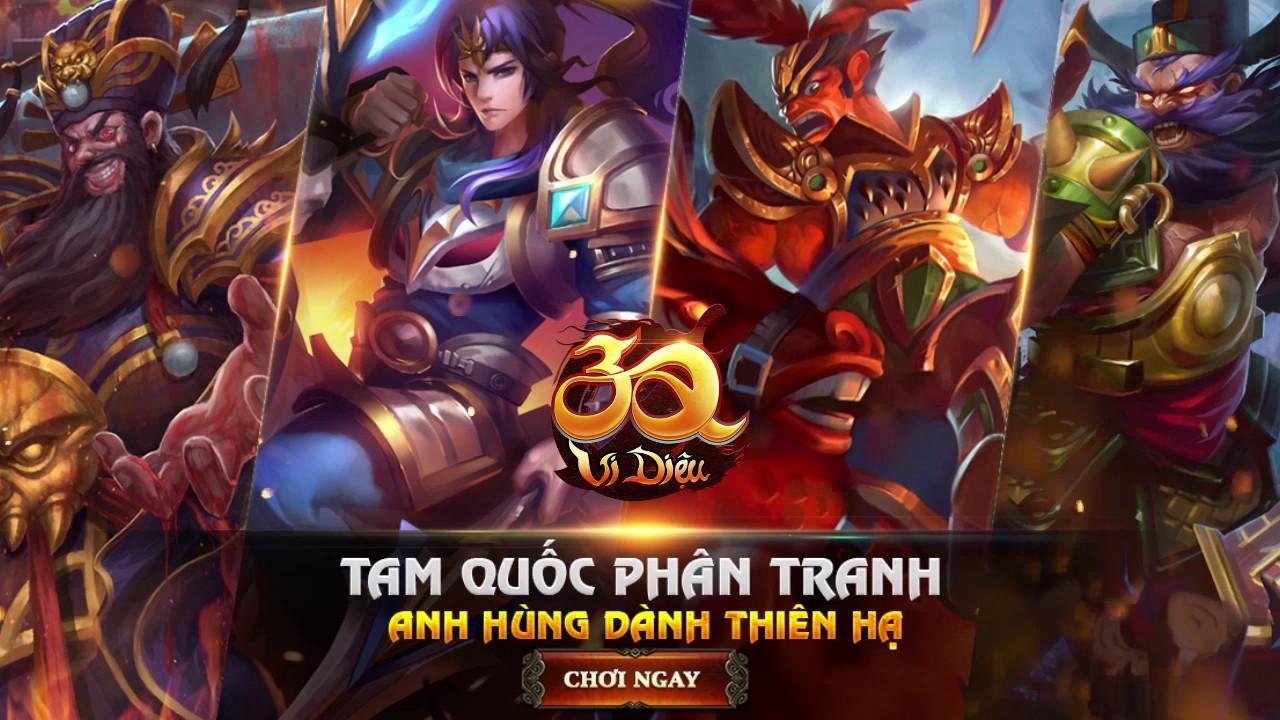 3Q Vi Diệu - Tam Quốc Tranh Hùng   Video Ads Spot 6