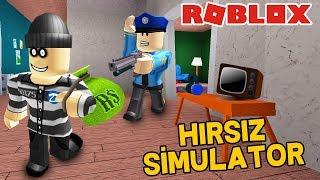 HIRSIZ OLUP EV SOYDUM 💎 / Roblox Robbery Simulator / Roblox Türkçe