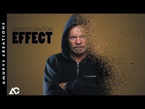 Gimp Tutorials : Disintegration Effect thumbnail