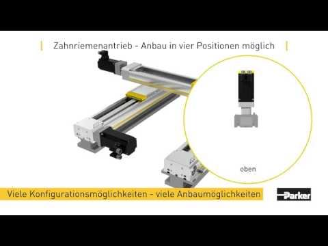 Parker Hannifin HMR Elekromechanischer Linearantrieb Mit Spindel Oder Zahnriemen (EU)