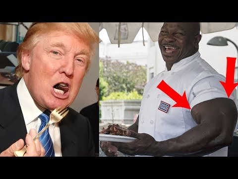 JACKED WHITE HOUSE CHEF: WHAT I FEED TRUMP! Live With