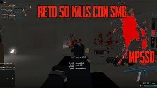 Roblox (c) Phantom Forces reto de la smg [mas von 50 Kills]
