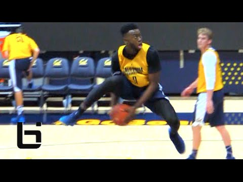 FRESHMAN Jaylen Brown Hits A 360 Between The Legs Dunk! CAL The Top Pac 12 Team?
