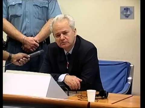 Excerpt from the Initial Appearance of  Slobodan Milošević on 3 July 2001