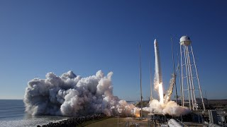 Northrop Grumman Antares and Cygnus Launch to the International Space Station
