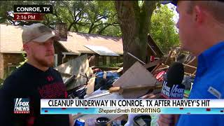 Homeowner describes the toughest part of Harvey clean-up