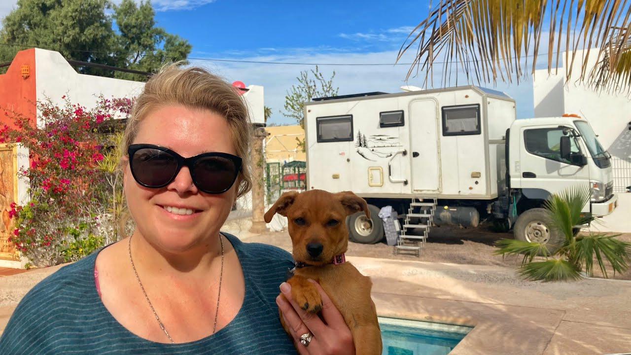 GOODBYE VAN LIFE ~ HELLO MEXICO AIRBNB LIFE (Roaches, Sharks & Getting Screwed)