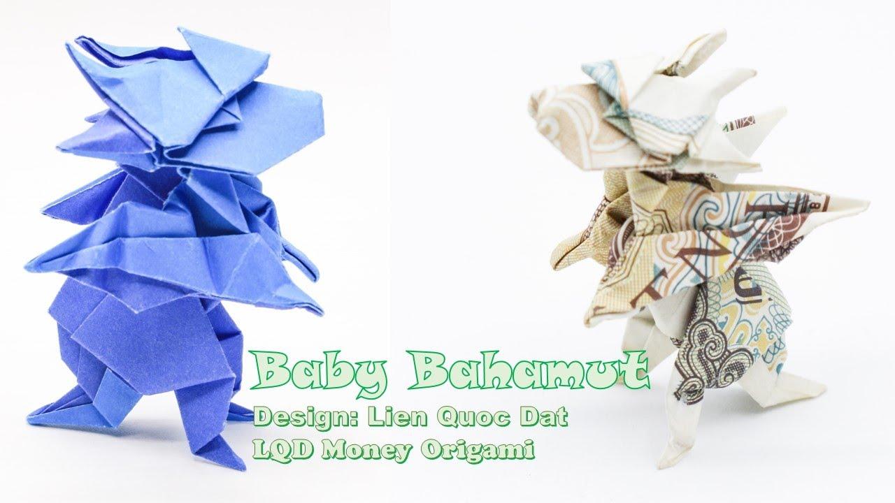 25 Money Origami Tutorials | 3D Dollar Bill Crafts | 720x1280
