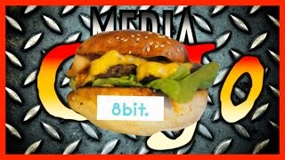 8 Bit With Cheese, Burger Taste Test