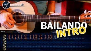 """Cómo tocar """"Bailando"""" de ENRIQUE IGLESIAS - INTRO Riff en Guitarra Acústica (HD) - Christianvib"""
