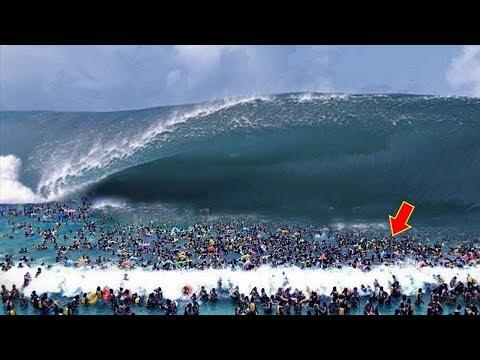 أكبر تسونامي في العالم , شاهد ماذا حدث شيء لا يصدق  - نشر قبل 9 ساعة