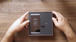 Unboxing Zte Axon 7 ( PT-BR )