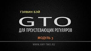 Гэлвин Бэй. GTO для преуспевающих регуляров. Модуль 3. (Фрагмент)