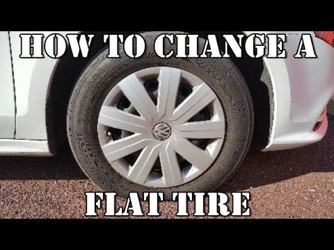 How to Change a Flat Tire Volkswagen Jetta