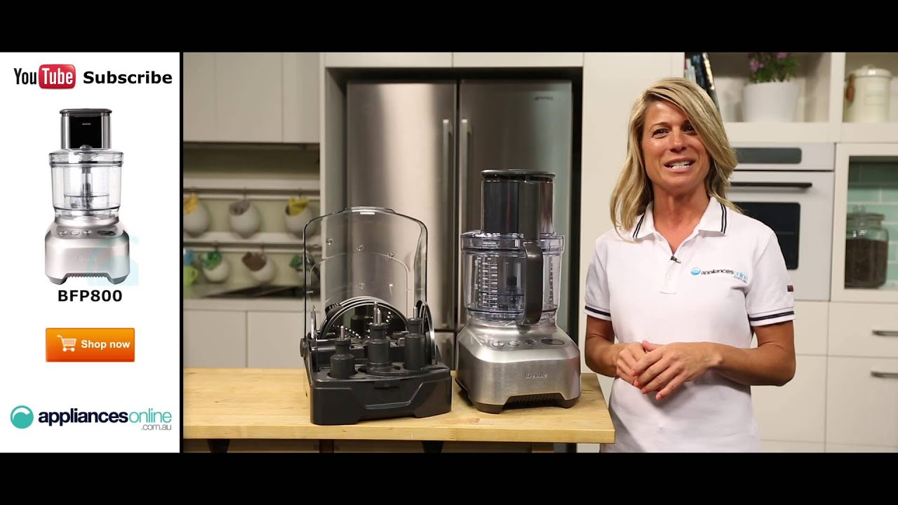 breville food processor bfp800 reviewed by expert appliances online youtube - Breville Food Processor