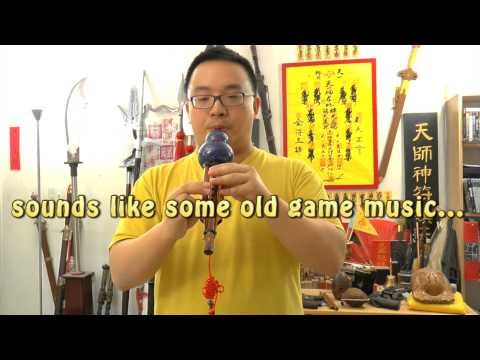 Hulusi - Funny Chinese Music Instrument that Sounds like DOS Game Music