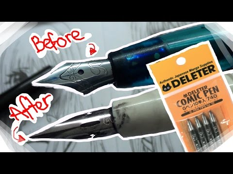 DIY COPIC INK PEN - G-PEN WITH CARTRIDGE   crafting vlog