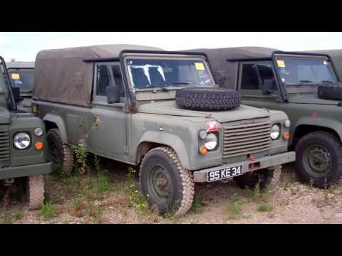 Jakon Motors : 1986/87 Land Rover Defender 110 Diesel Military