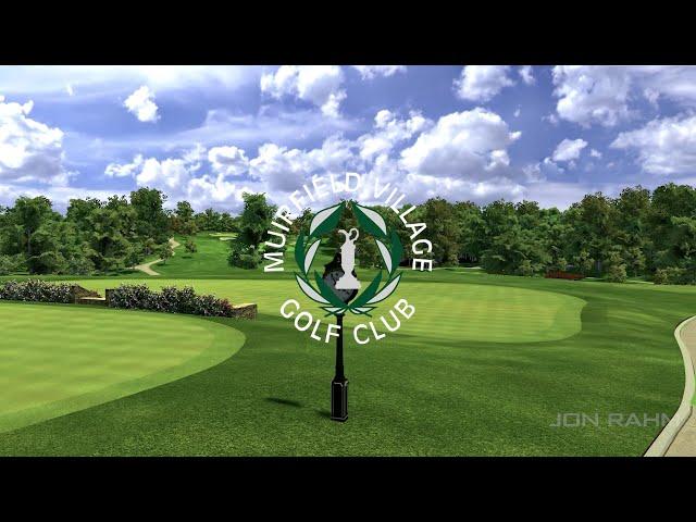 Full Swing Simulator Flyover of Muirfield Village Golf Club Renovations with Jon Rahm
