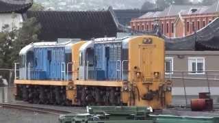 三菱重工製DJ型ディーゼルエレクトリック機関車Pt2 =タイエリ渓谷鉄道=