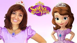 Princess Sophia The First Transformation   Kids Makeup and Dress Up   Super Elsa