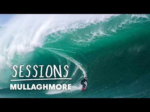 Conor Maguire And Irish Big Wave Pros Surf Huge Mullaghmore | Sessions