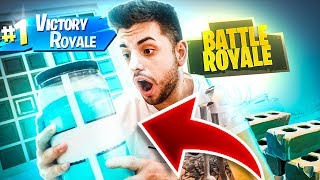 FORTNITE ITEMS in REAL LIFE!!! (FORTNITE IN REAL LIFE)