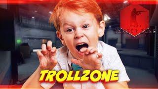ЗАТРОЛЛИЛ ШКОЛЬНИКА В РЕЖИМЕ DANGER ZONE! - TROLLZONE (ТРОЛЛИНГ В CS:GO)