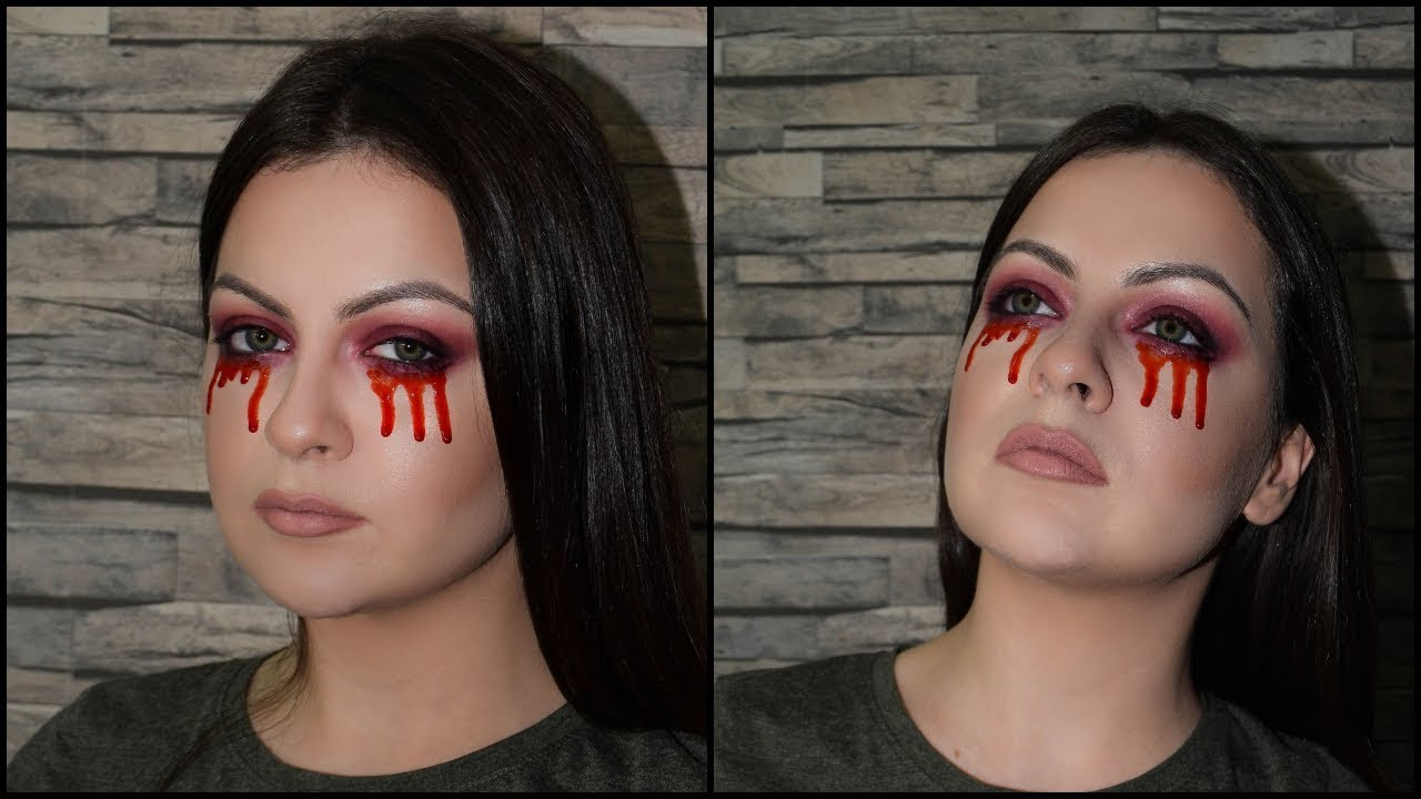 brza šminka za noć veštica ||| quick halloween makeup ||| beauty
