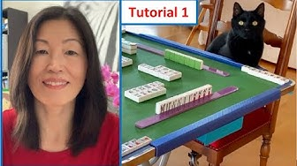 How to play Mahjong? Classic Mahjong for Beginners! Lesson 1 (Deutsch mit English Untertitel)