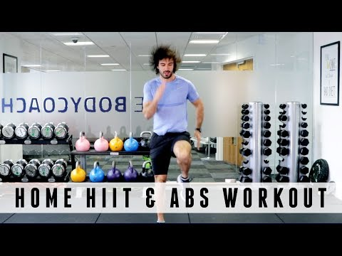 20 Minute Home HIIT & Abs Workout | The Body Coach