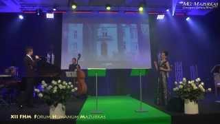 XII Forum Humanum Mazurkas-Justyna Reczeniedi, K.A.Krzeszowiak-
