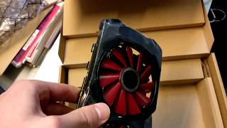 Unboxing and Dimensions: AMD XFX RX 570 8GB