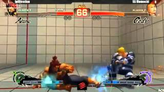 SSFIV:AE v2012 - Infiltration (Akuma) vs. Momochi (Cody) - NCR 2013